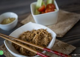 Makaron ryżowy po tajsku