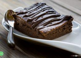 brownie bananowe z czekoladą