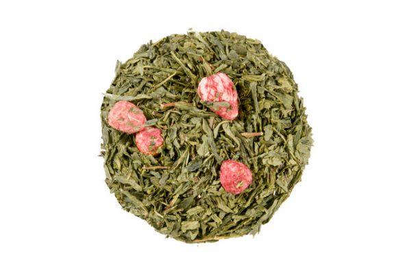 Herbata Sencha poziomka