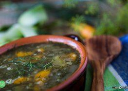 zupa koperkowa z cukinią