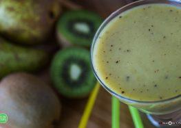 Smoothie z zielonych owoców
